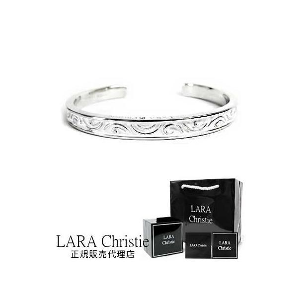 ララクリスティー バングル メンズ ブレスレットレディース おしゃれ 人気 ブランド lara christie シルバーブレスレット 送料無料
