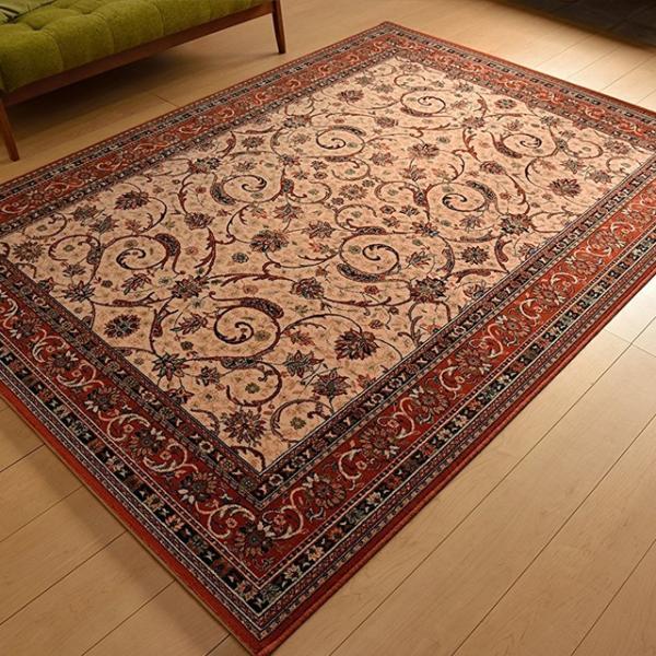Wilton Carpets Outlet Factory: カーペット ウール 絨毯 じゅうたん ラグ ベルギー製 140x200 総柄 人気 :woolwilton2338