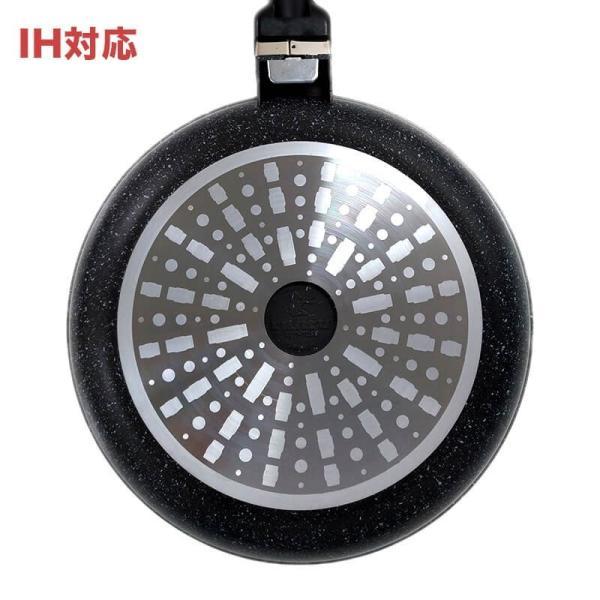フライパン IH直火兼用 ルール健康フライパン 20cm x 7.5cm 深鍋 ruhru 05
