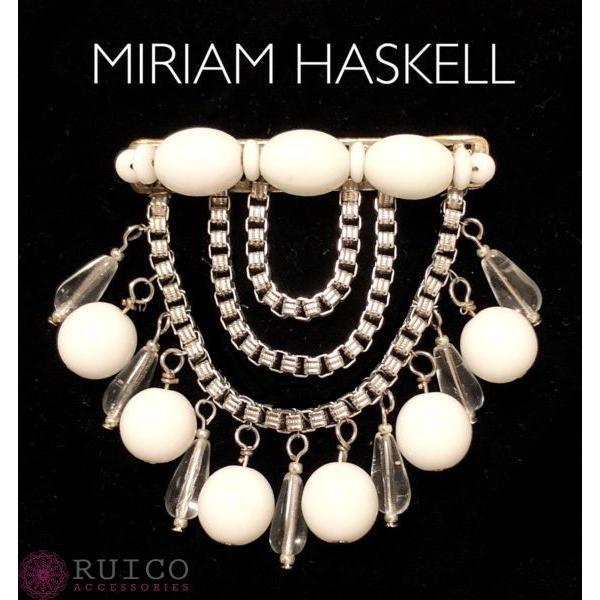 MIRIAM HASKELL ミリアム ハスケル ブローチ  ビンテージ中古品