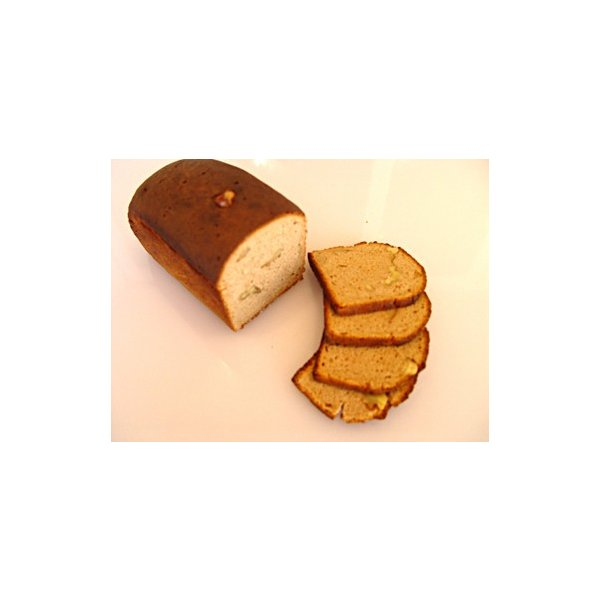 ロシアの黒パン・ライ麦90% クルミ  カット 送料無料対象外 ベーカリーからの直送品