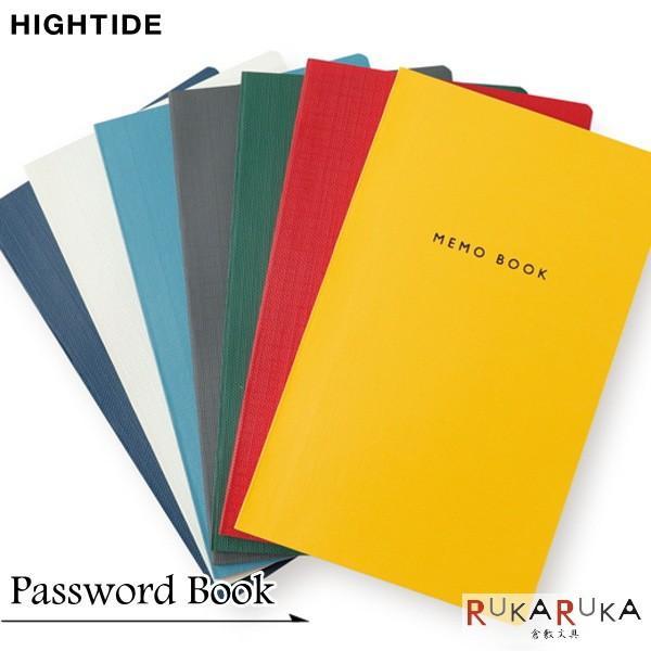 Password Book《パスワードブック》 62ページ [全7色]ハイタイド 823-CP016** 【ネコポス可】 アカウント&パスワードブック ID メモブック
