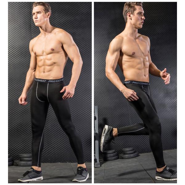コンプレッションタイツ スポーツ トレーニング メンズ オールシーズン インナー タイツ ボトム インナーウェア ジョギング マラソン 吸汗 速乾|rukodo|13
