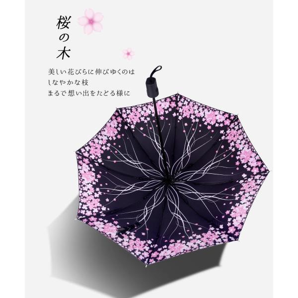 折りたたみ傘 日傘 晴雨兼用 uvカット 遮光 レディース 手開き 雨傘 撥水 花柄 星柄 大きいサイズ 折り畳み ポイント消化 送料無料|rukodo|07