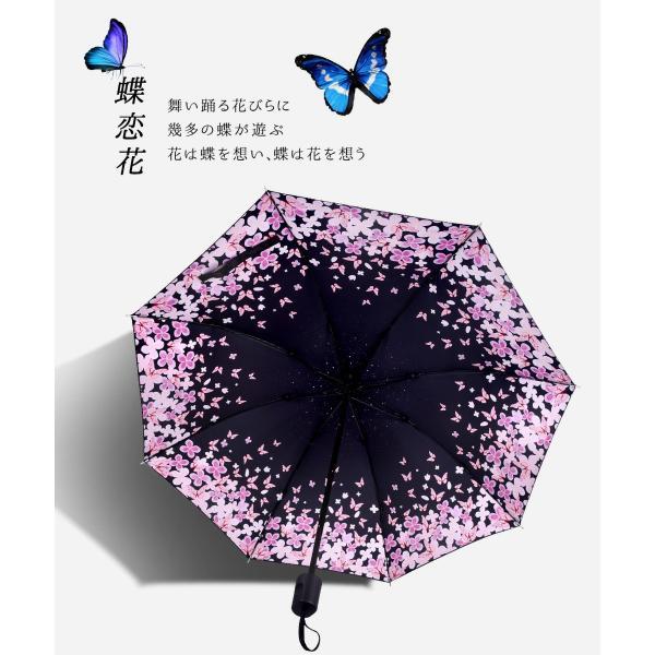 折りたたみ傘 日傘 晴雨兼用 uvカット 遮光 レディース 手開き 雨傘 撥水 花柄 星柄 大きいサイズ 折り畳み ポイント消化 送料無料|rukodo|09