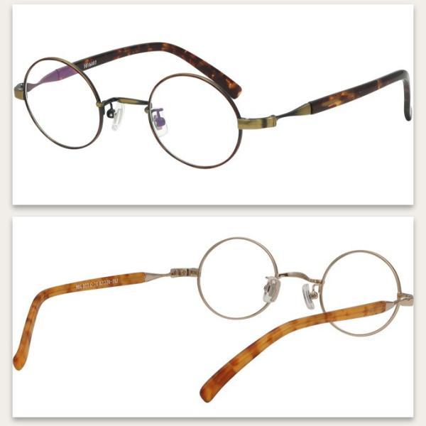 メガネ 度付き MBG017-42  丸メガネ クラッシック(アンティーク)  眼鏡フレーム (近視・遠視・乱視・老視に対応)|rule|06
