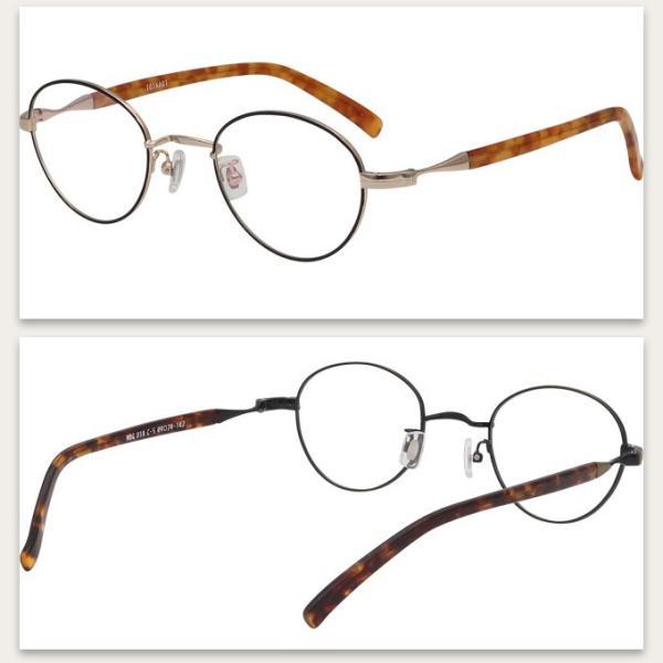 メガネ 度付き MBG018-49  クラッシック(アンティーク)  眼鏡フレーム (近視・遠視・乱視・老視に対応)|rule|06