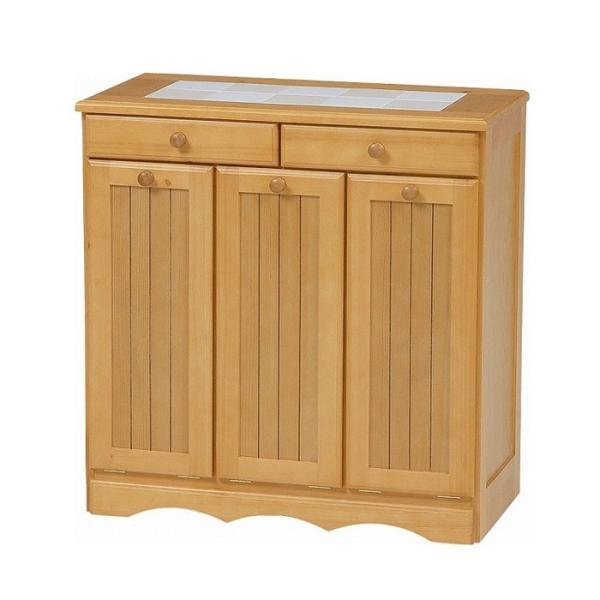 ダストボックス キッチン おしゃれ キッチンカウンター ゴミ箱 収納 キャスター付き|rumo5|04