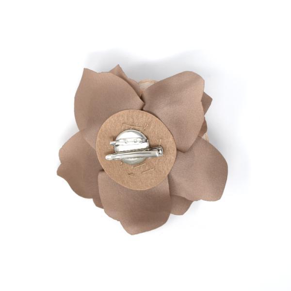 コサージュ ブローチ ヘアアクセ フラワー 羽 花 バラ 薔薇 レース リアルフェザー|rumsee|10