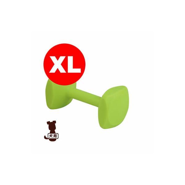 ◇トレーニングダンベル XL イエロー ファンタジーワールド ▼w ペット グッズ 犬 ドッグ おもちゃ デンタルケア
