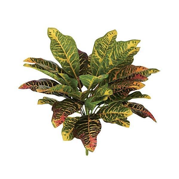 造花 インテリア 観葉植物 造花 クロトンブッシュ 30  LEBU7662