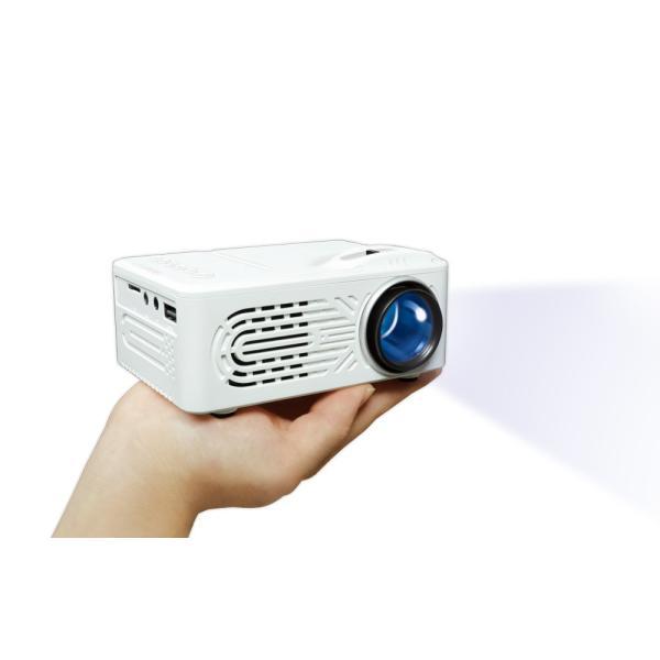 ミニプロジェクター  軽量 ホームシアター 壁&天井 動画 映画 画像 音楽
