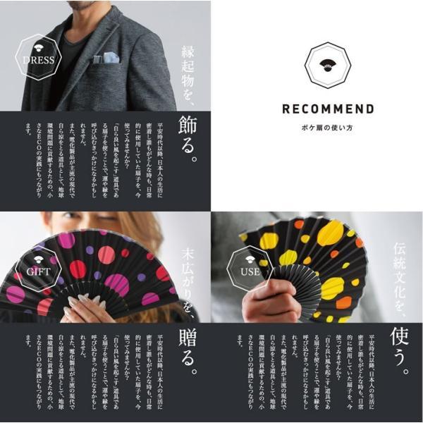 オリジナルブランド扇子 poke扇 渚 (POKESEN)|ryokushusen|04