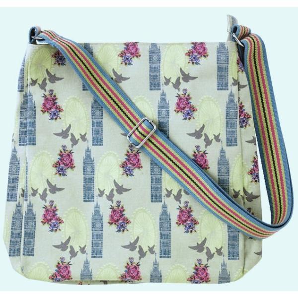 Ulster Weavers (アルスター・ウィーバーズ)メッセンジャーバッグ ロンドン 肩掛け 斜め掛け Messenger Bag London 英国ブランド イギリス 617LON