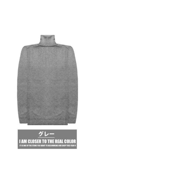 カシミヤ タートル ニット セーター メンズ 秋冬 カシミア 黒 ネイビー グレー 白 M L LL XL 服 メンズファッション 冬物|ryouhin-boueki|15