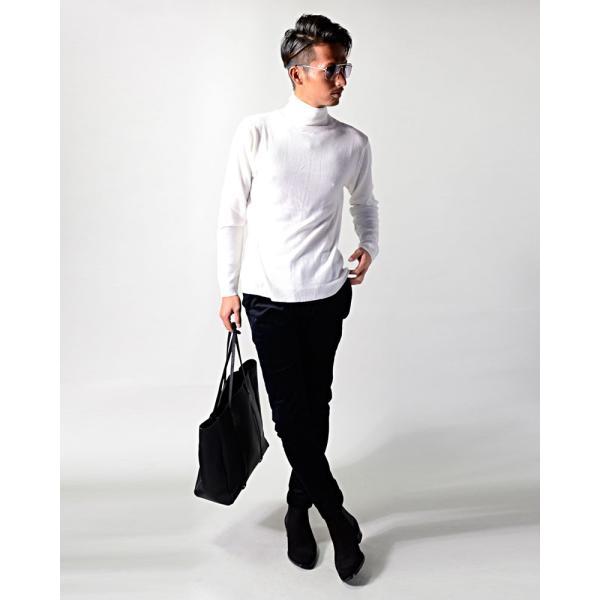 カシミヤ タートル ニット セーター メンズ 秋冬 カシミア 黒 ネイビー グレー 白 M L LL XL 服 メンズファッション 冬物|ryouhin-boueki|08
