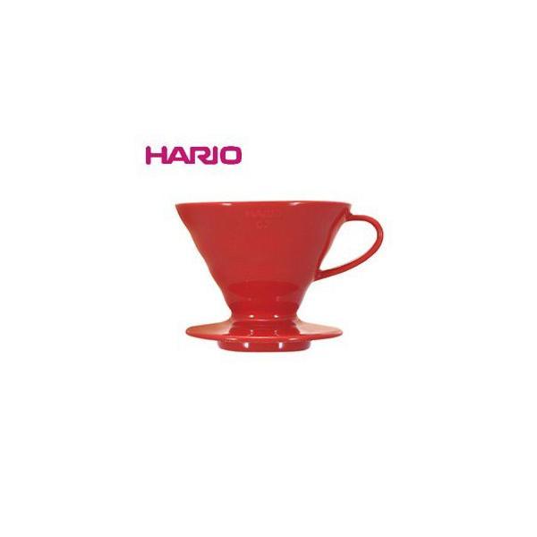 RoomClip商品情報 - ハリオ HARIO V60透過ドリッパー02セラミック レッド コーヒードリッパー VDC-02R