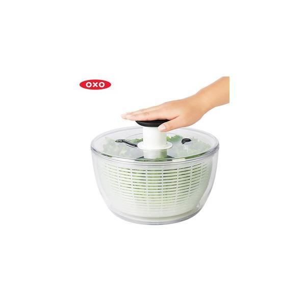 OXO オクソー クリアサラダスピナー大 (新デザイン)11230400(送料無料)[1](配送日指定)