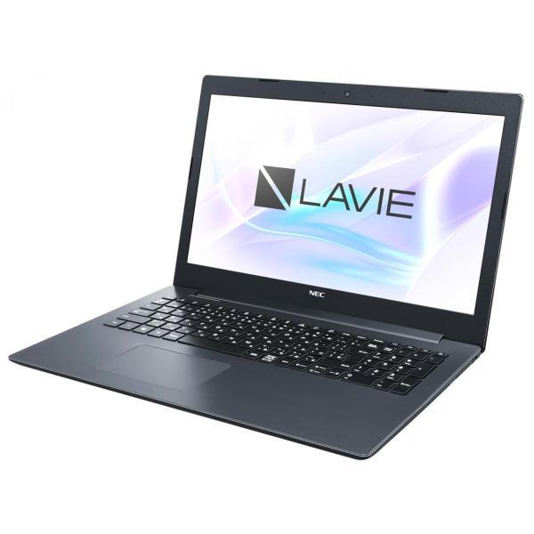 NEC PC-NS600MAB ノートパソコン LAVIE Note Standard(NS600/MAシリーズ) カームブラック [15.6型 /AMD Ryzen 7 /SSD:256GB /メモリ:4GB /2019年春モデル]の画像