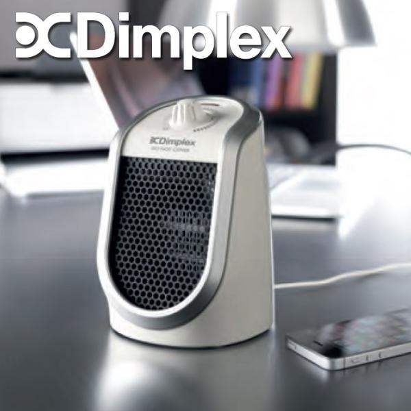 デスクトップ ファンヒーター 暖房 ディンプレックス デスクトップファンヒーター 1-2畳用 DDFJ250 USBポート付き スマホ 充電 手元暖かでおしゃれ