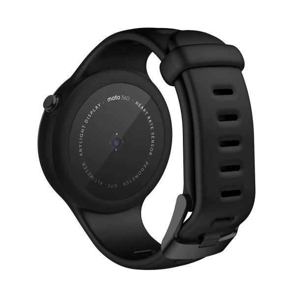第2世代Moto 360 2nd Gen 2015 Smart Watch スマートウォッチ 腕時計 Android Wear iOS対応