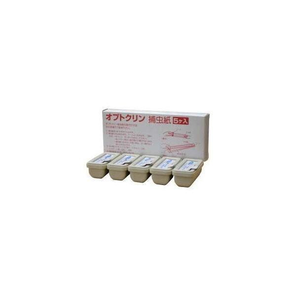 イカリ消毒 オプトクリン捕虫紙小箱S-20 5個入 捕虫器交換用捕虫紙|rysss|03