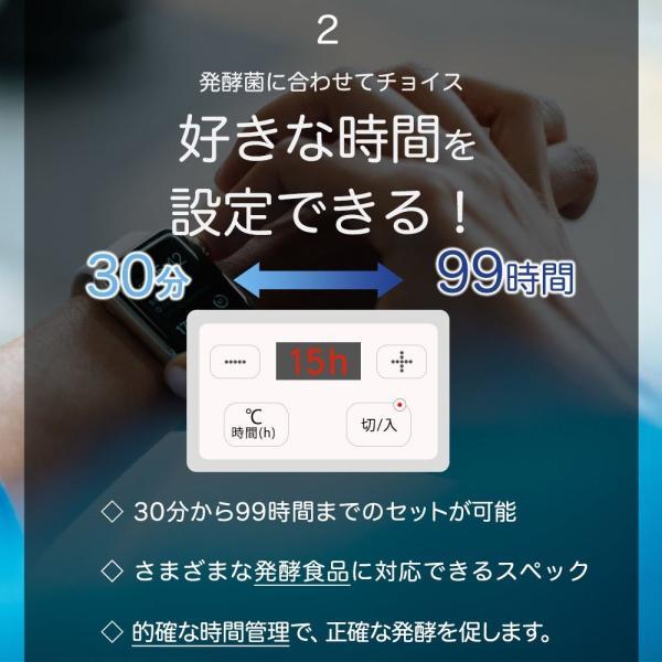 i-WANO (岩野) ヨーグルトメーカー 温度調節機能(20~70℃) / タイマー機能(30分、1~99時間) すぐに作れるレシピ 1,|rysss|07