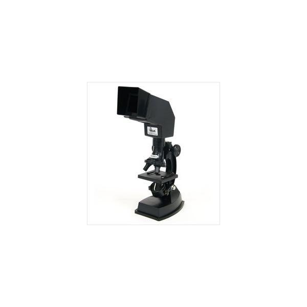 顕微鏡 入学祝い 小学校 自由研究 学習 プロジェクター機能付 マイクロスコープ 600倍300倍100倍 新日本通商 生物顕微鏡