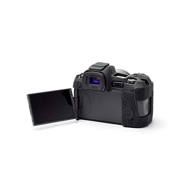 DISCOVERED イージーカバー EOS R 用 ブラック 液晶保護フィルム付属
