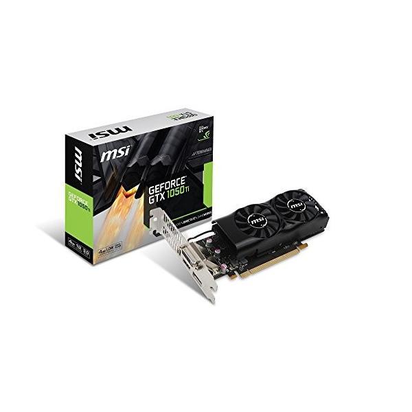 MSI GeForce GTX 1050 Ti 4GT LP グラフィックスボード LPモデル VD6238|rysss|02