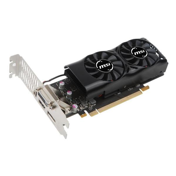 MSI GeForce GTX 1050 Ti 4GT LP グラフィックスボード LPモデル VD6238|rysss|08