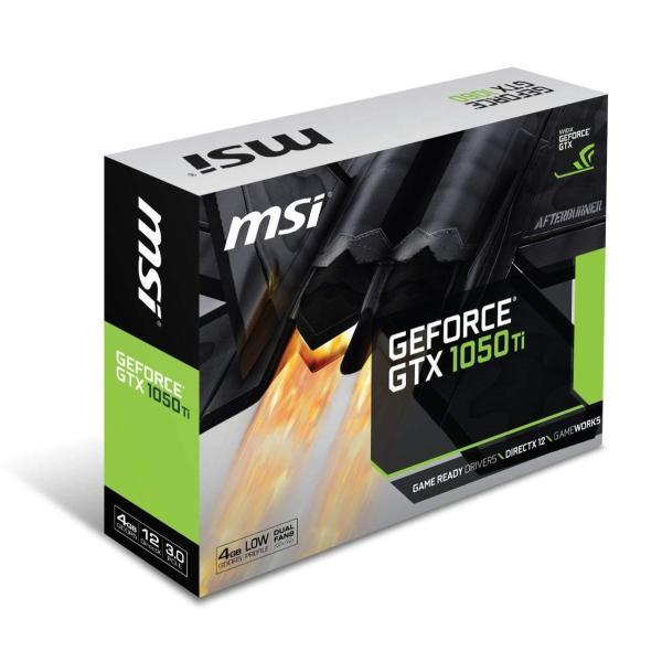 MSI ロープロファイル対応 グラフィックスカード GEFORCE GTX 1050 TI 4GT LP|rysss|04