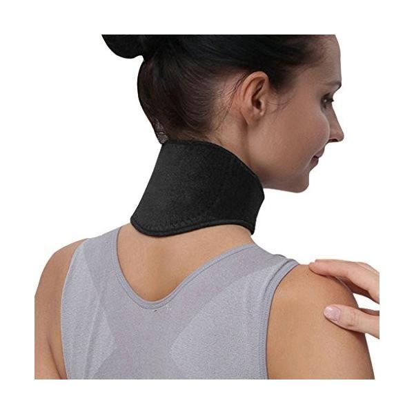 首 サポーター 頚椎サポーター メンズ レデイース 肩こり 首こり 頚椎症 頚椎ヘルニア 血行促進 頸椎カラー 筋違い 寝違え ネックサポー rysss 02