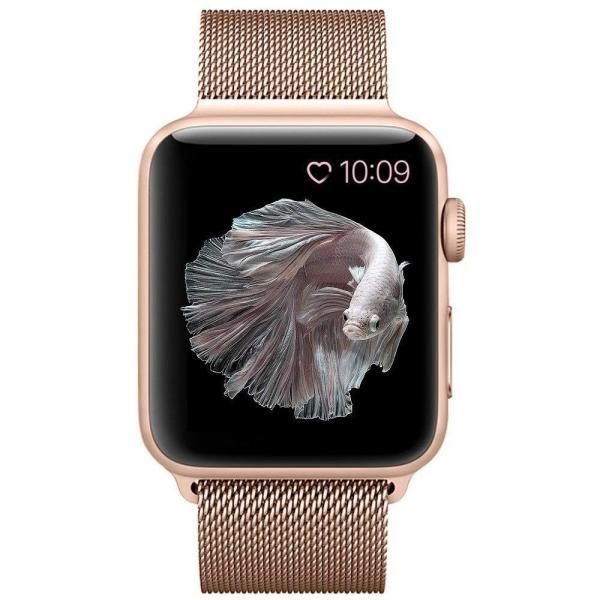 BRG コンパチブル apple watch バンド,ミラネーゼループ アップルウォッチバンド apple watch series1/2/|rysss