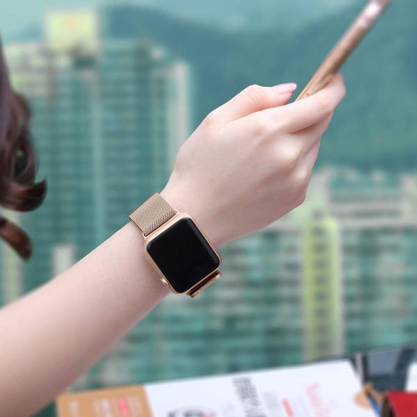 BRG コンパチブル apple watch バンド,ミラネーゼループ アップルウォッチバンド apple watch series1/2/|rysss|04