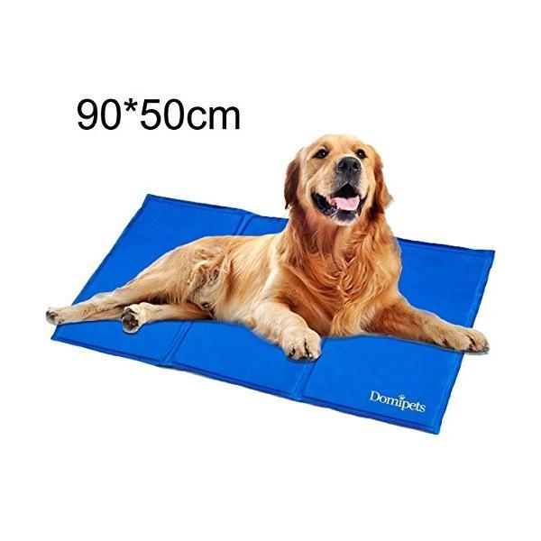ペットひんやりマット クール 冷え冷えマット 冷感ベッド 犬・猫用冷却シート ペット暑さ対策グッズ 中・大型犬用XL(50*90cm) rysss
