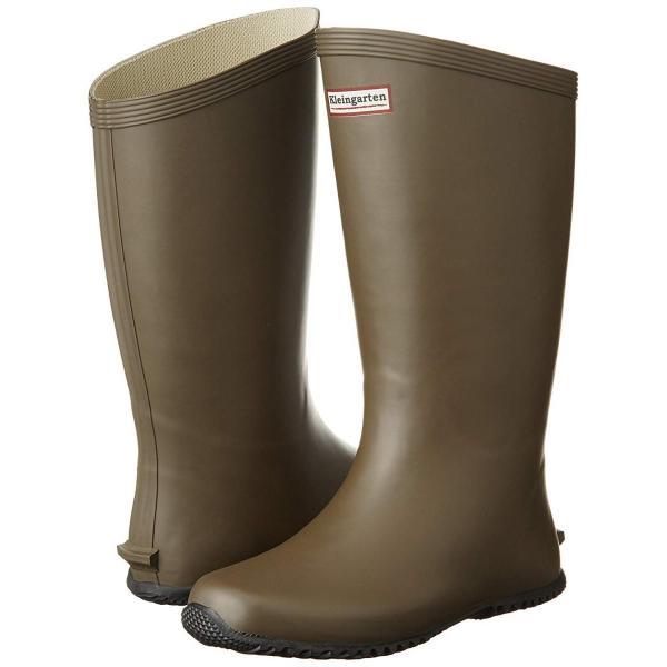 クラインガルテン 長靴 農業長靴 ロール底インソール入り CM-2901 ブラウン 24 cm 2E rysss