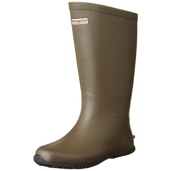 クラインガルテン 長靴 農業長靴 ロール底インソール入り CM-2901 ブラウン 24 cm 2E rysss 06