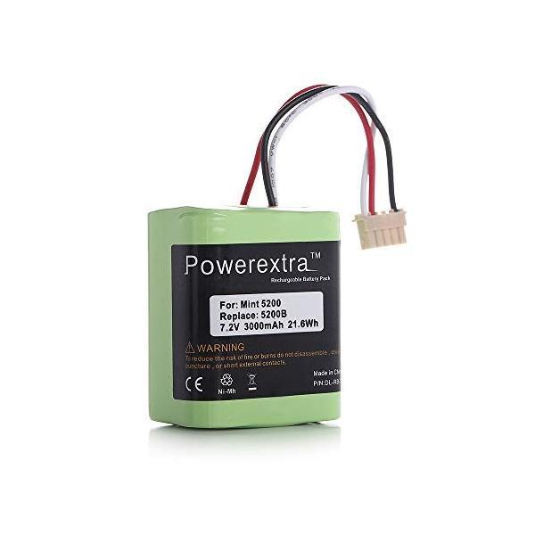 Powerextra ブラーバ 380J 371J バッテリー 7.2V/3000mAh 4449273 iRobot Braava バッテ|rysss