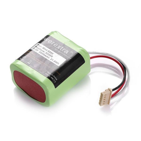 Powerextra ブラーバ 380J 371J バッテリー 7.2V/3000mAh 4449273 iRobot Braava バッテ|rysss|05