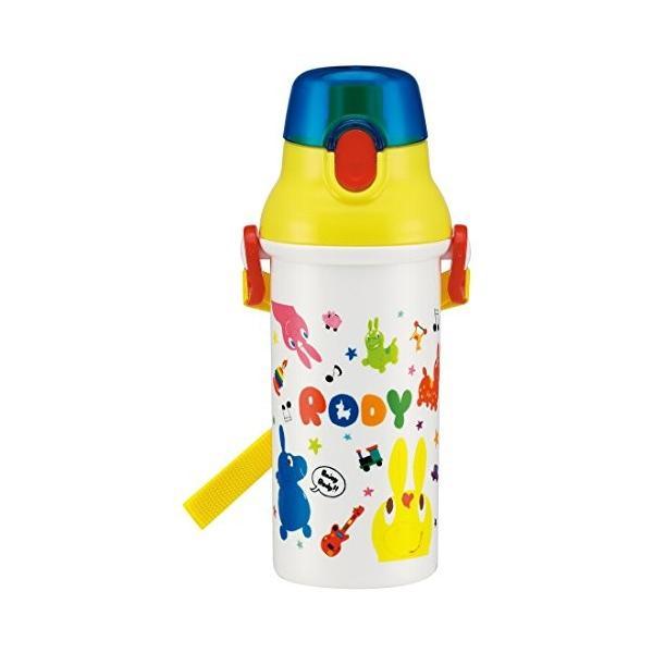 直飲み 水筒 プラワンタッチボトル 480ml ロディ スケッチ PSB5SAN|rysss|04