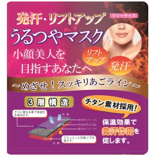 美容 半身浴 デトックス 小顔 うるつやマスク おうちでエステ 小顔効果リフトアップ 送料無料 エステ(YK01)|ryuna