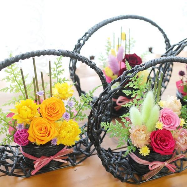 プリザーブドフラワー 送別 退職祝い プレゼント ギフト 和風 贈り物 送別 退職祝い 送別 誕生日 結婚祝い 記念日 お礼 還暦 お祝い 花 思い出のあとさき|s-arrange|12