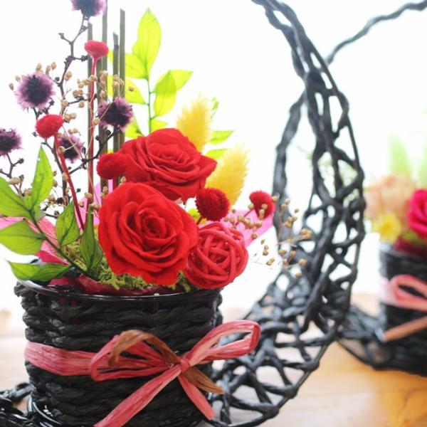 プリザーブドフラワー 送別 退職祝い プレゼント ギフト 和風 贈り物 送別 退職祝い 送別 誕生日 結婚祝い 記念日 お礼 還暦 お祝い 花 思い出のあとさき|s-arrange|14