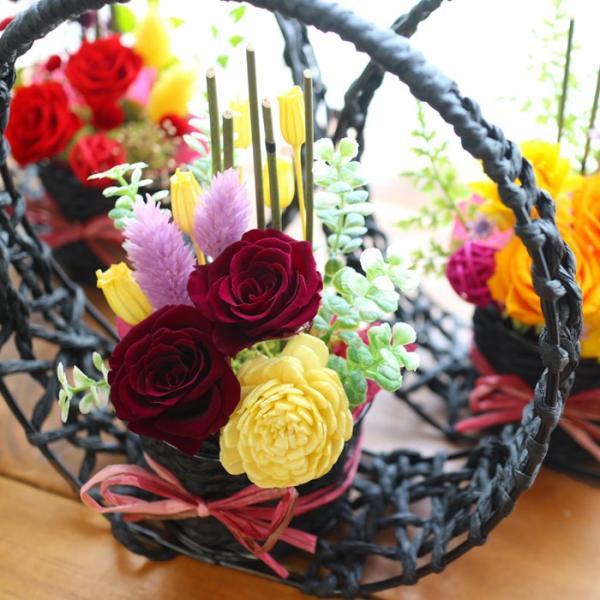 プリザーブドフラワー 送別 退職祝い プレゼント ギフト 和風 贈り物 送別 退職祝い 送別 誕生日 結婚祝い 記念日 お礼 還暦 お祝い 花 思い出のあとさき|s-arrange|15