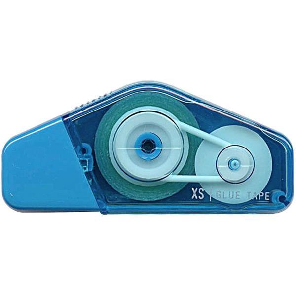 ミドリテープ接着剤 XSシリーズ 青 35269/デザインフィル ミニ 修正 コンパクト【メール便OK】