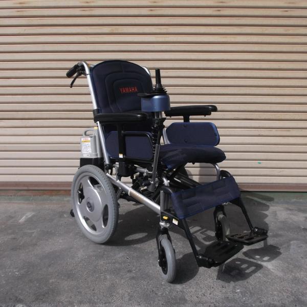 電動車椅子  ヤマハ  タウニィジョイ介助操作部付き
