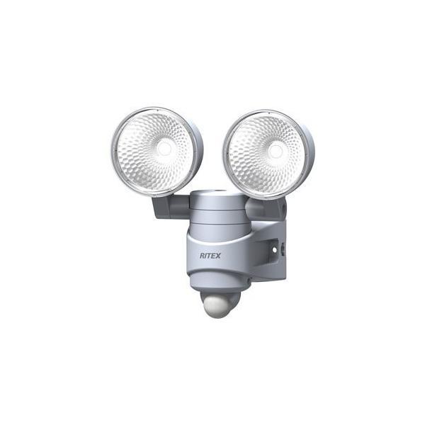 ムサシ RITEX 7W2灯 LEDセンサーライト 「AC電源タイプ」 防雨タイプ LED-AC314|s-frontier|02