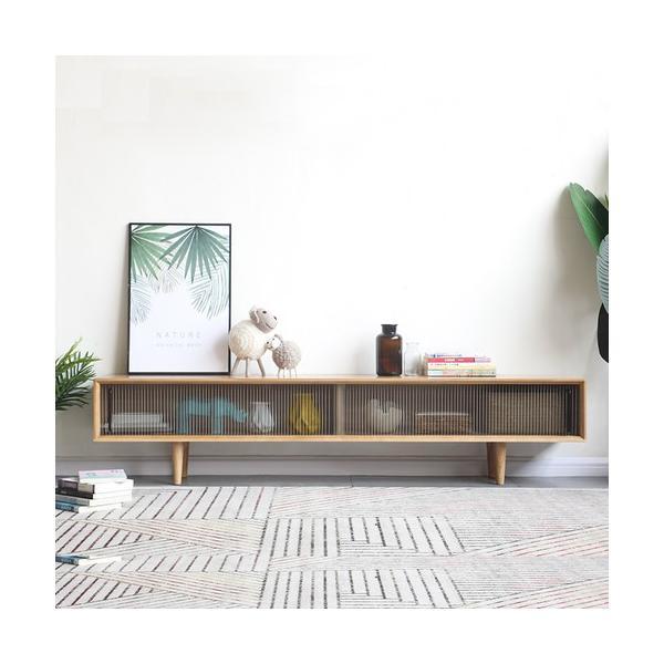 <title>北欧デザイン オーク無垢材使用 国際ブランド TVボード 幅150cm cf0029</title>