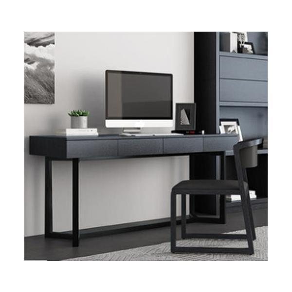 <title>寸法オーダー可 ブラックオークのPCデスク スタイリッシュなスタイルで SOHO スモールオフィスに 商い cf0113</title>